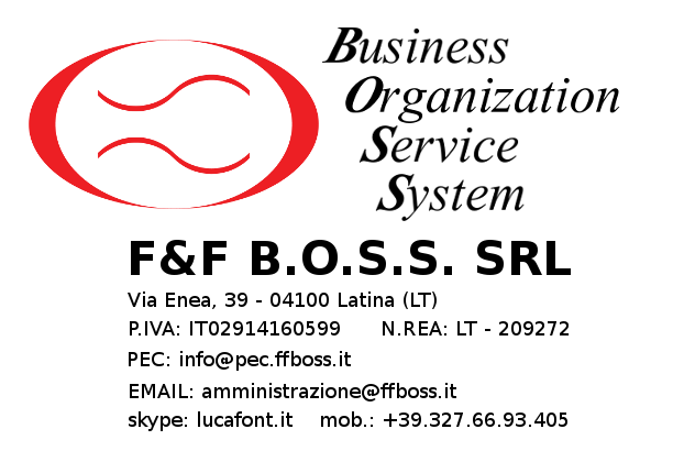 F&F B.O.S.S. - Business Card